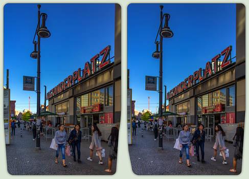 Bahnhof Alexanderplatz 3-D / CrossView / Stereos