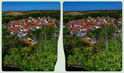 Langenstein outlook 3-D / CrossView / Stereoscopy