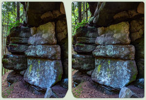 Too white 3-D / CrossView / Stereoscopy