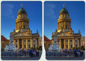 French Dome 3-D / CrossView / Stereoscopy