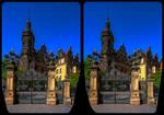 Stadtschloss Dresden 3-D / Kreuzblick by zour