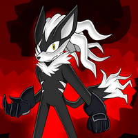 Fanart: Unmasked Infinite, from Sonic Forces by LUIGIFAN222