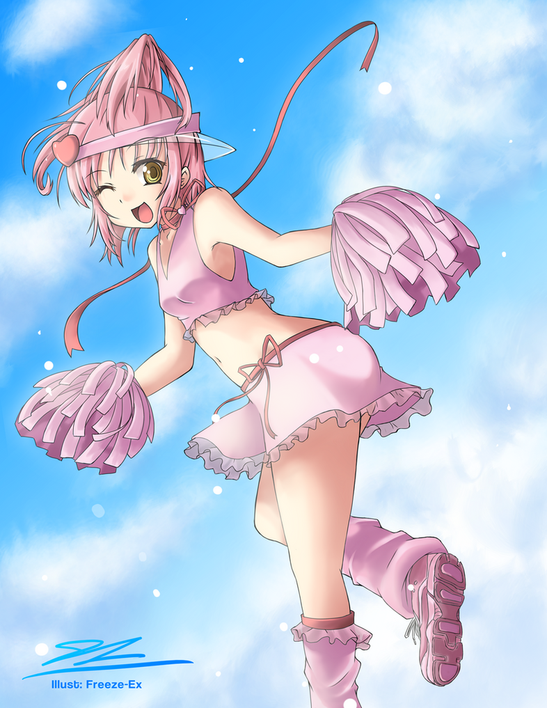 Shugo Chara- Amu Hinamori Commission by freezeex