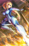 Zero Suit Samus Kick