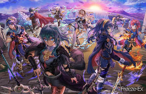 Fire Emblem All cast in Smash