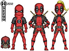 Micro-Hero Deadpool Corps