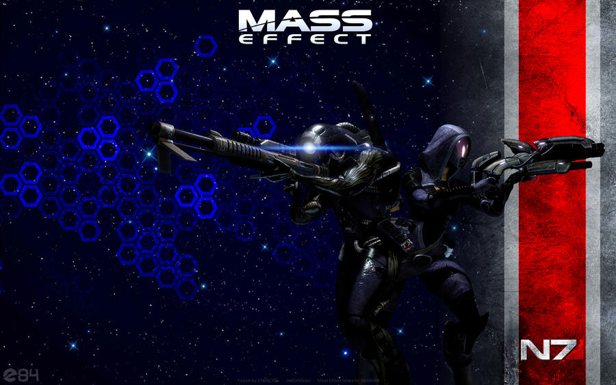 Mass Effect Tali And Legion Wallpaper By Energy84 On Deviantart