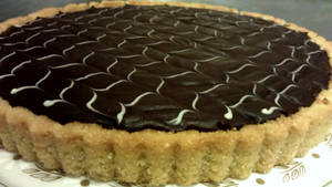 Chocolate Ganache Tart by asthetiq