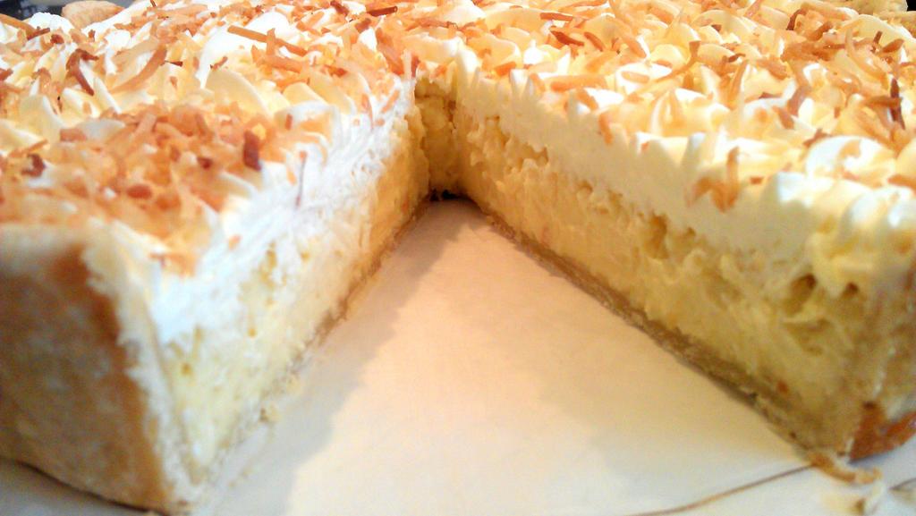 Coconut Flan Pie by asthetiq on DeviantArt