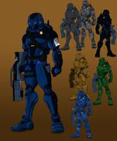 Federation Armor Design by YulayDevlet