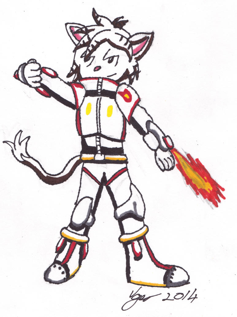 Commission 2: MaxFirestorm by vger