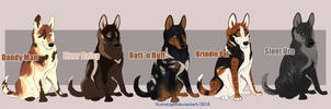 Pup Designs {OPEN SALE] Paypal by Kumotogi