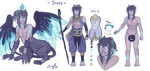 Janus The Demon Sphinx - Ref