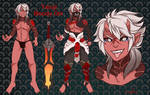 Yasuji The Bloody Oni - Ref by sofia-1989