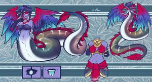 COM ADOPT - Quetzalcoatl Lady Naga