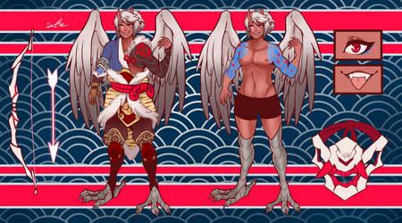 Akio The Half Oni - Harpy