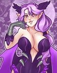 Secret Santa - Purple Lady Demoness