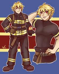 Vampire Fire Fighter