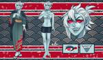 REF - Kenji The Nukekubi by sofia-1989