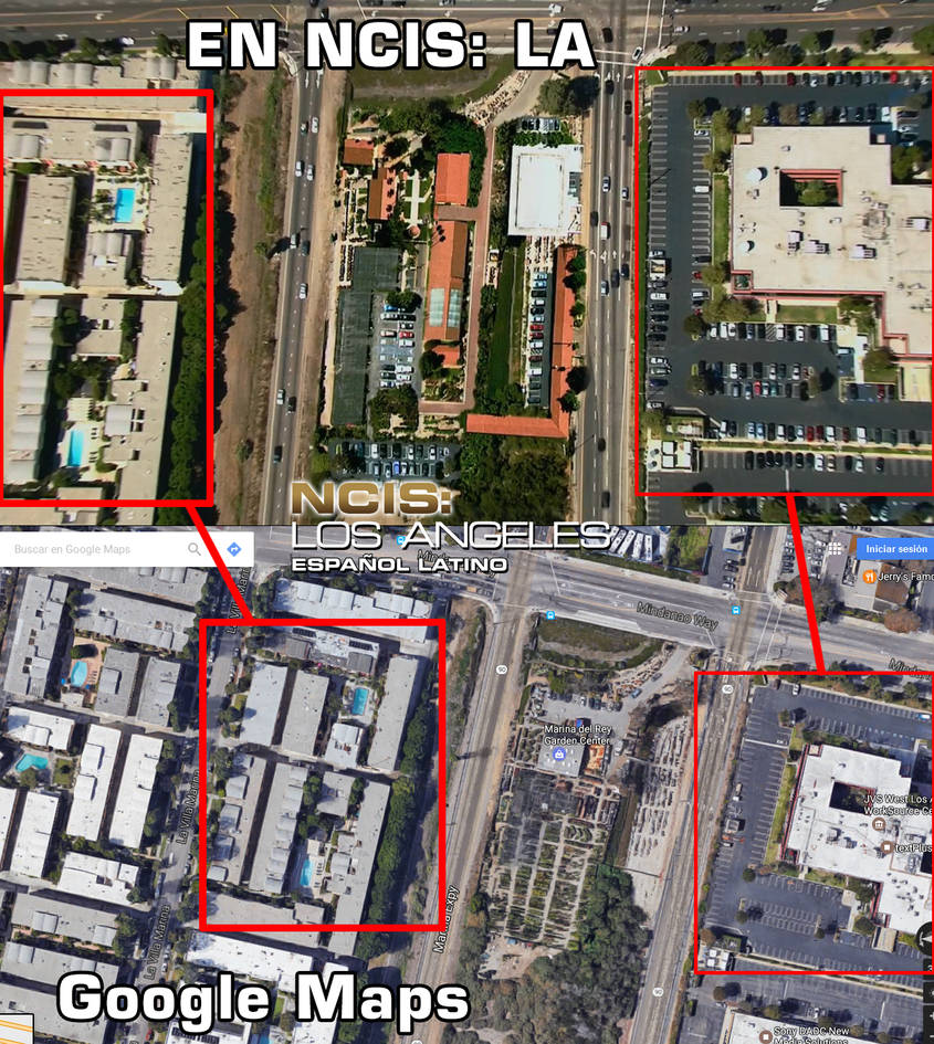 NCIS Los Angeles - Office Location - Google Maps by ...