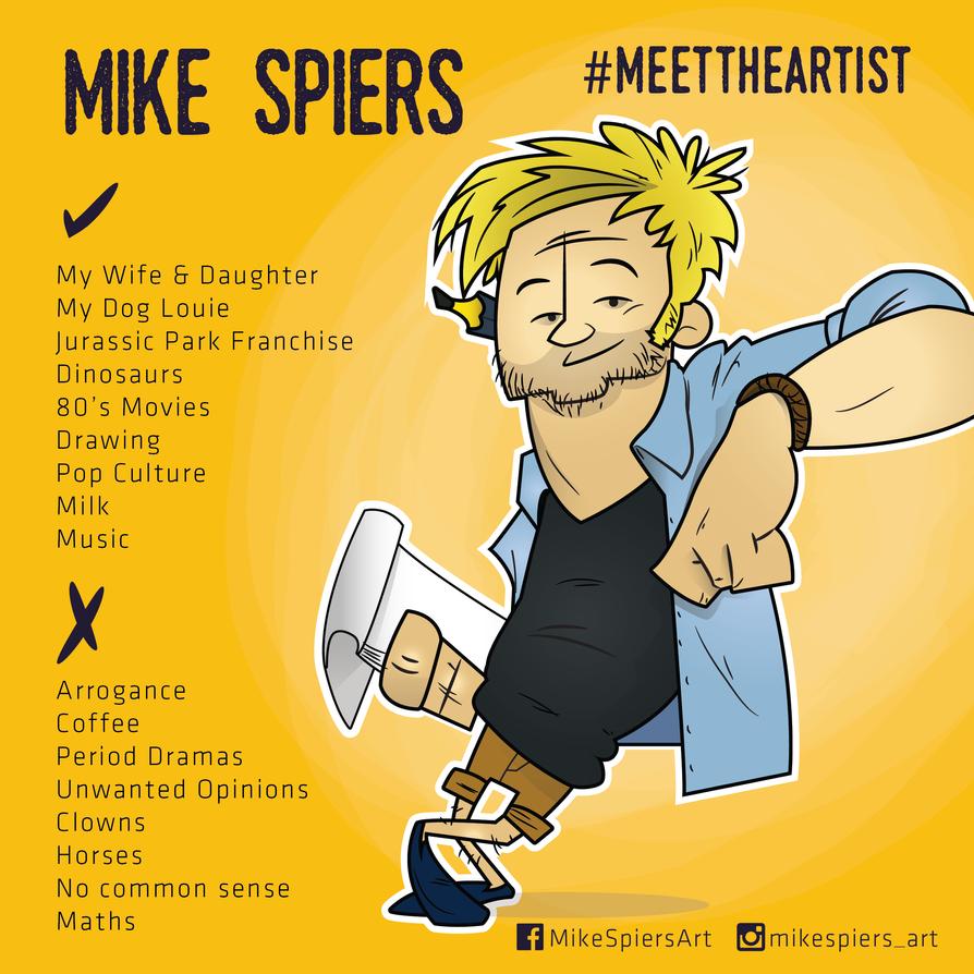 Meet the artist by spiers84