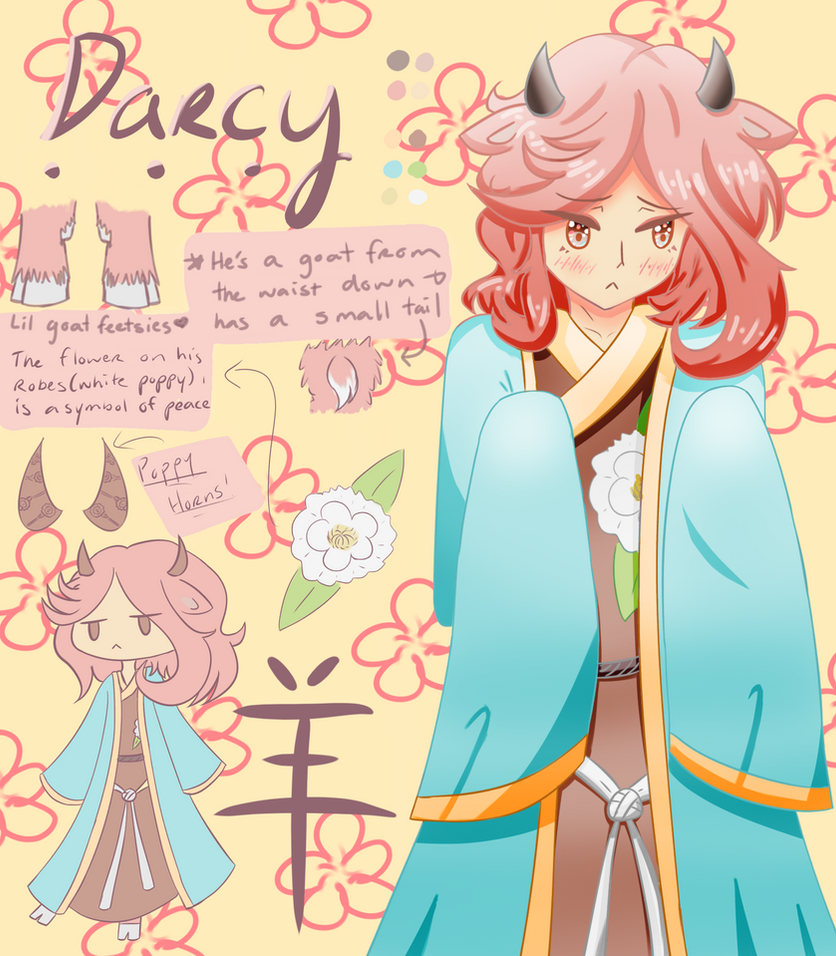 Darcy yang chinese zodiac inspired oc by alinpenguin