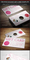 Creative Elegant Gift Card Template
