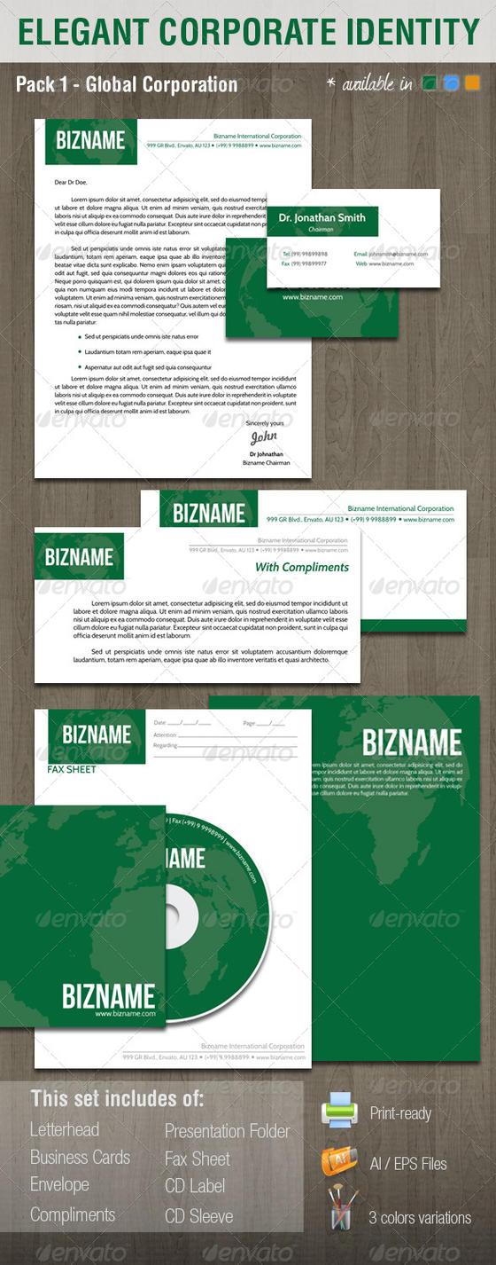 Elegant Corporate Identity System - V1 by madebygb