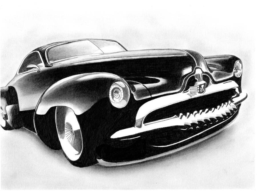 Classic Car By Tclark On Deviantart