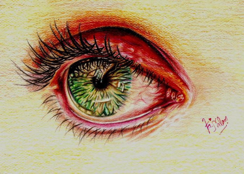 Emerald Eye by Fajralam
