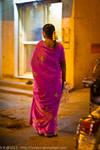 Pink Sari by vicken