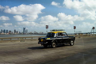 Mumbai Cab by vicken