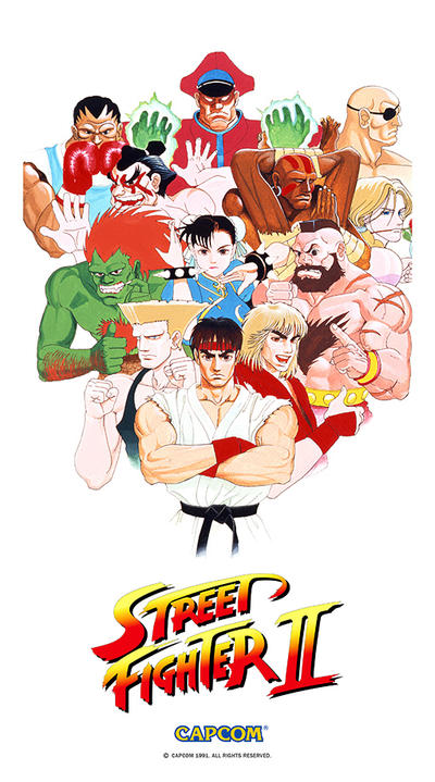 Street Fighter 2 Poster Related Keywords & Suggestions - Street