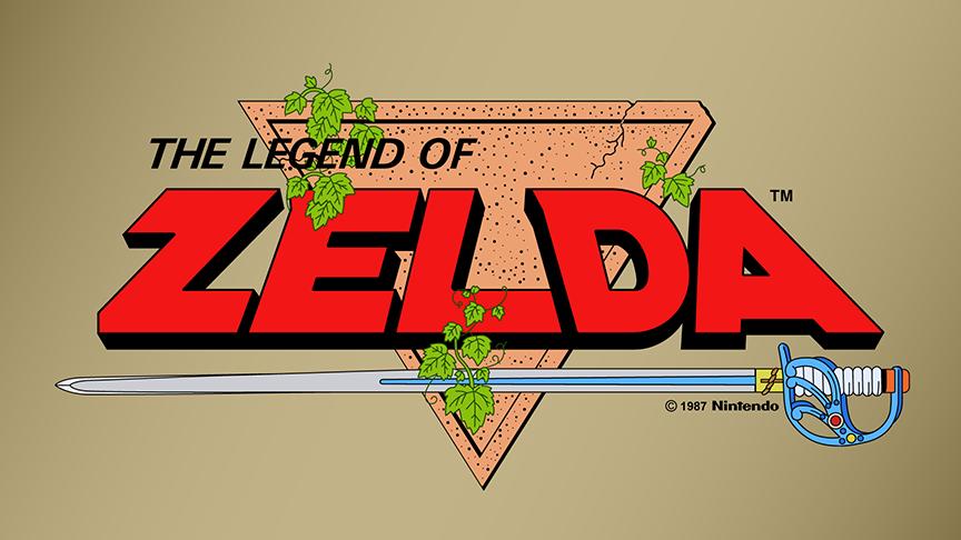 The Legend of Zelda Vector Logo (NES) (1987) by imLeeRobson