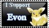 ::Evon Fan Stamp:: by kiraradaisuki