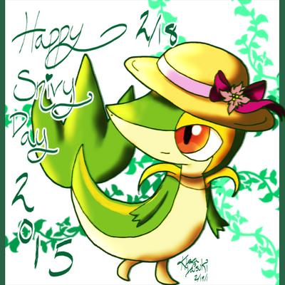 Happy Snivy Day 2015 by kiraradaisuki