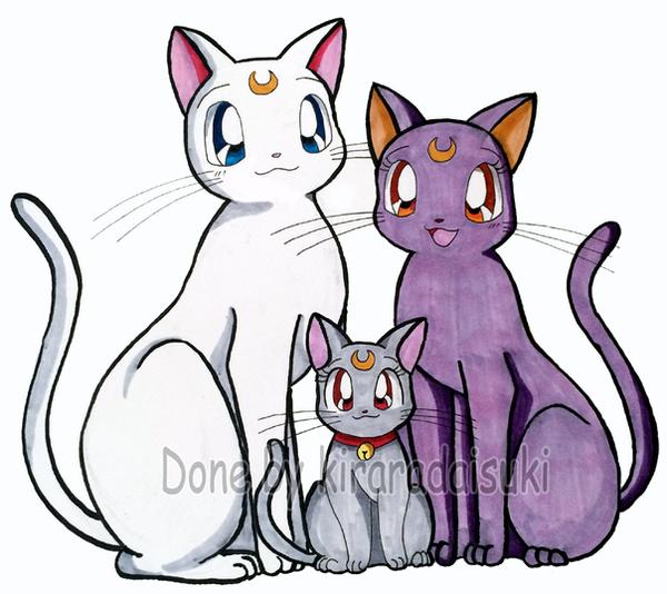 Copic Markers SM Cat Family by kiraradaisuki
