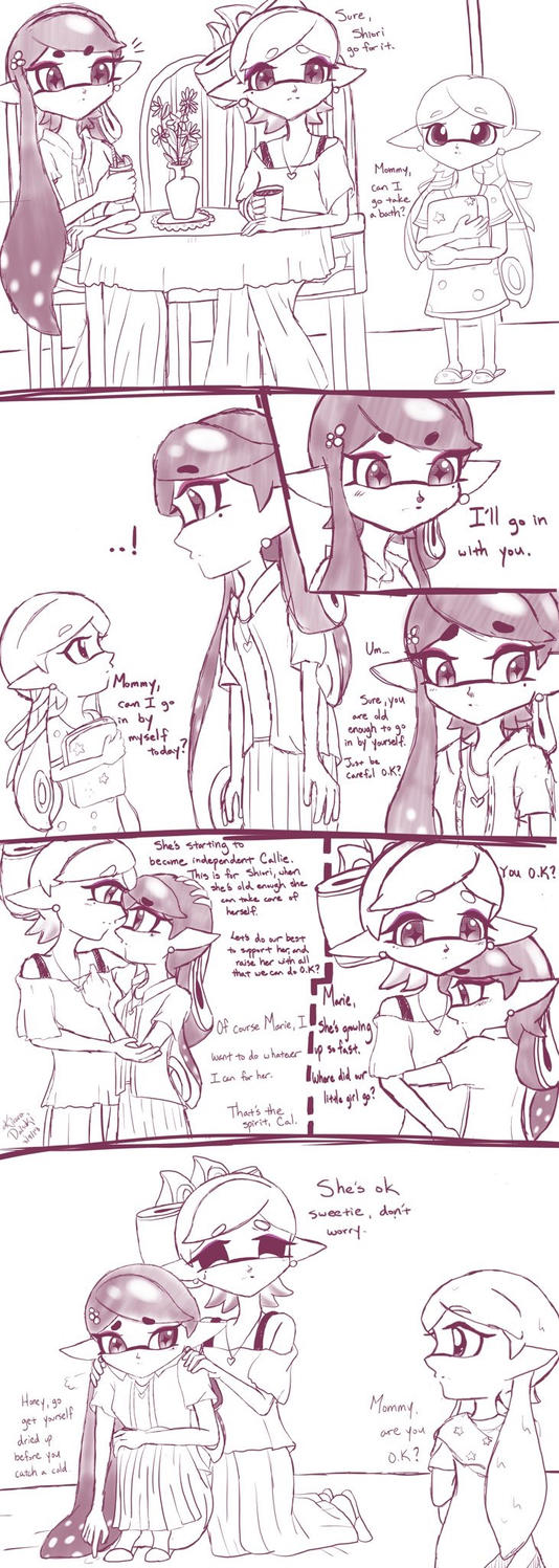 Squid Sisters :Growing Up: by kiraradaisuki