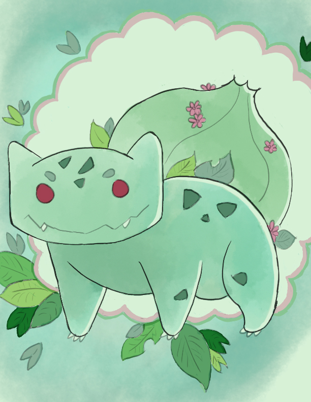 Pokemon - 0001 (Bulbasaur) ++ by RytersBlock