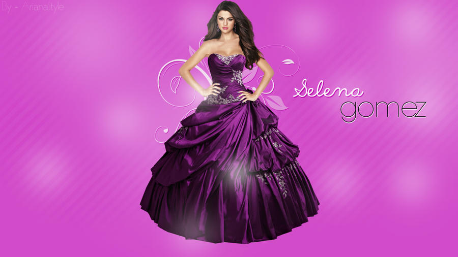 Selena Gomez Wallpaper #1 by ArianaStyle on DeviantArt