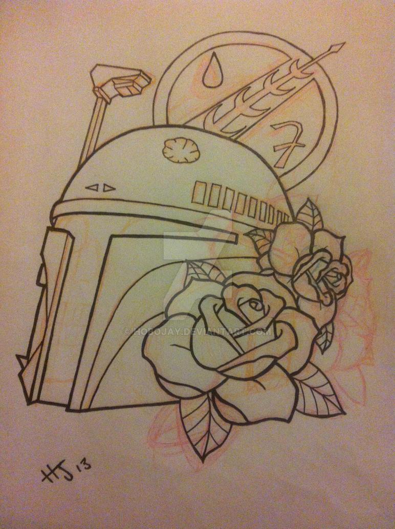 Boba Fett Tattoo Design by Hobojay on DeviantArt