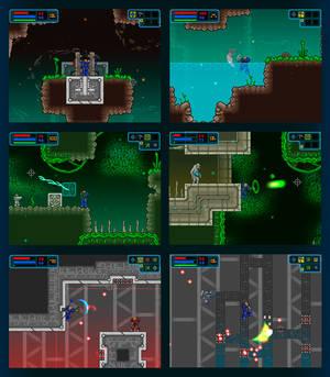 Galactic Marine - Areas 1-3