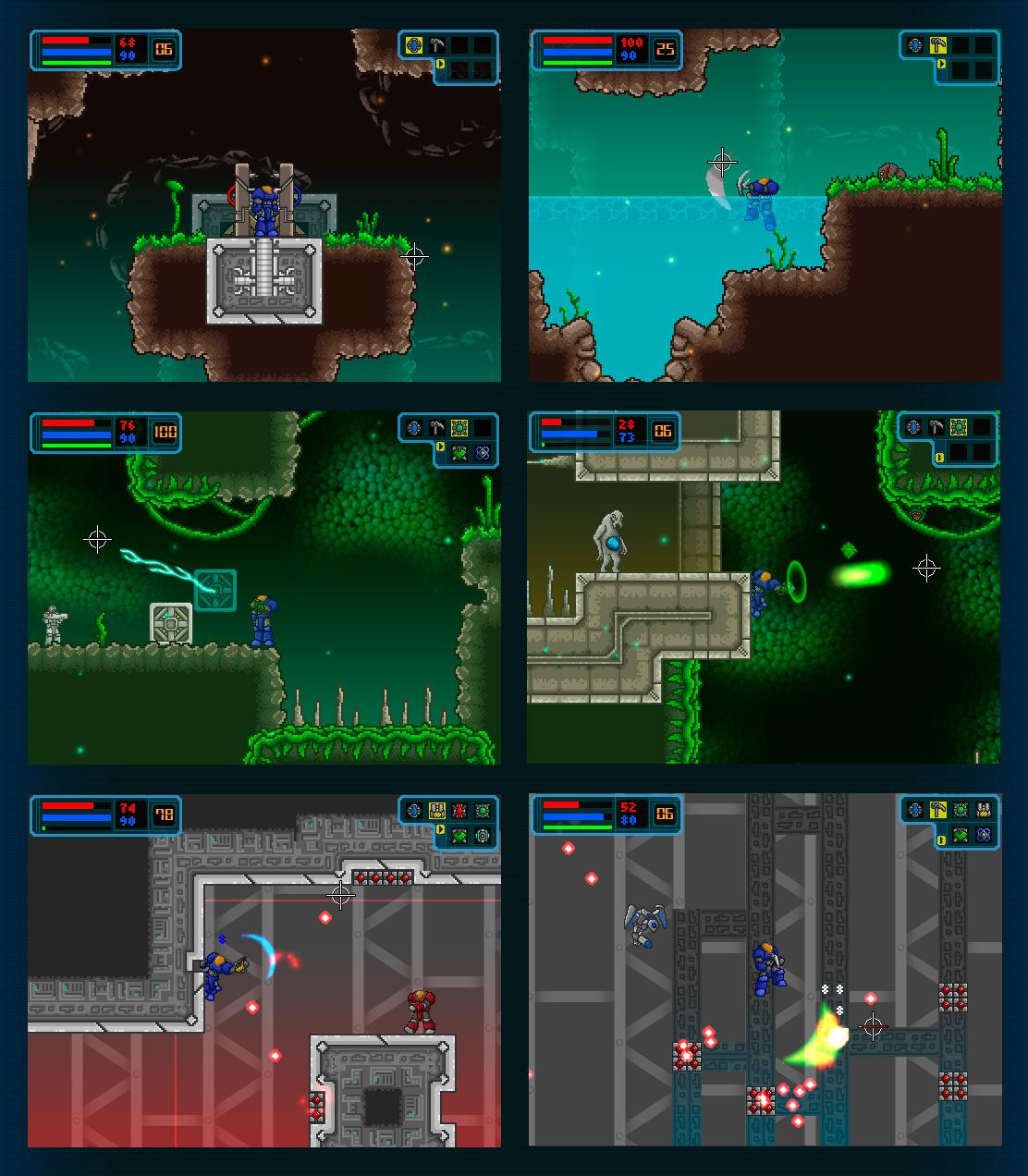 Galactic Marine - Areas 1-3 by BeholderKin