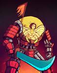 Samurai Mecha Geisha Pilot by BeholderKin