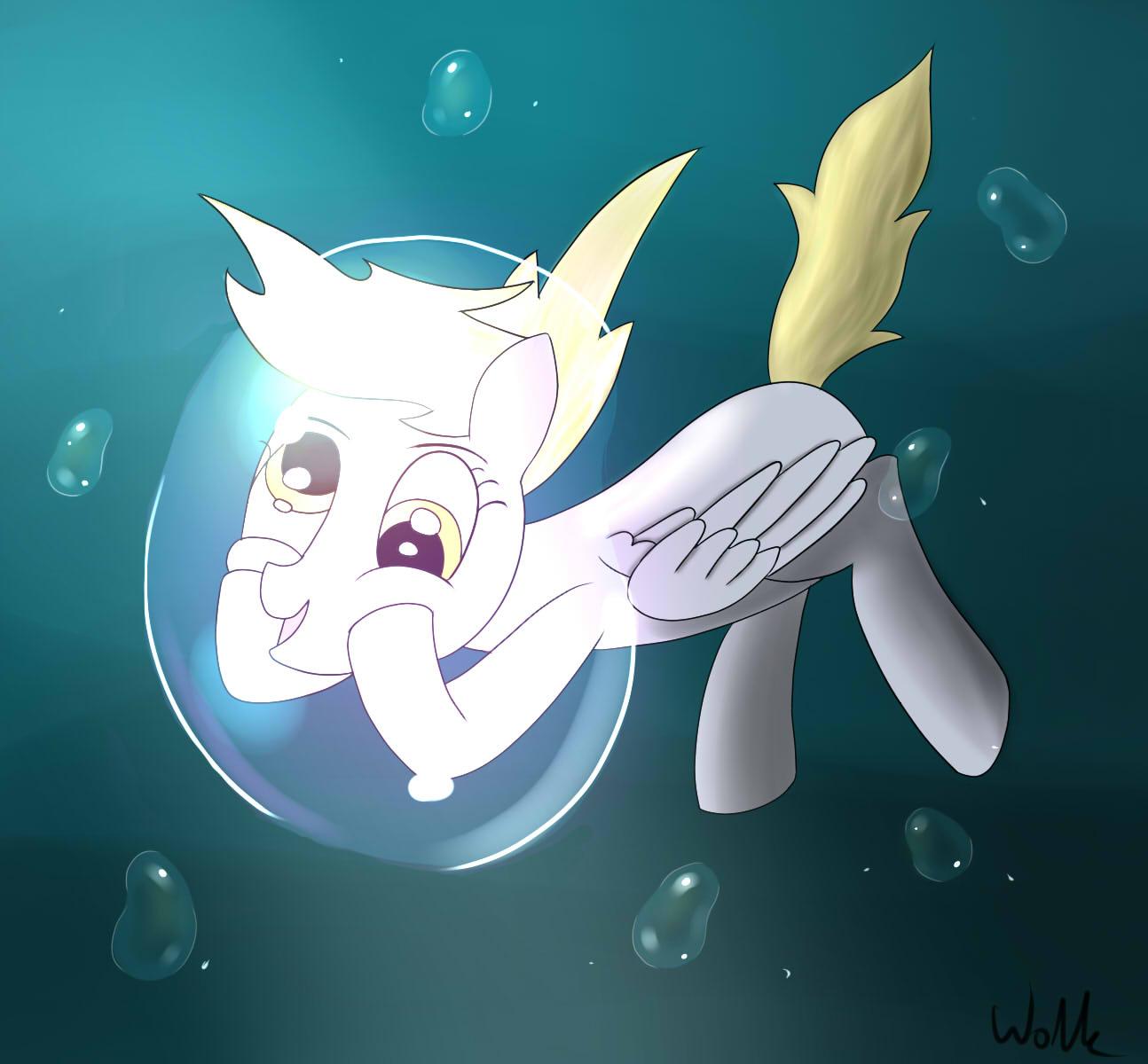 Underwater Derpy