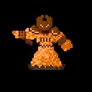 Pixel Ragnaros the firelord