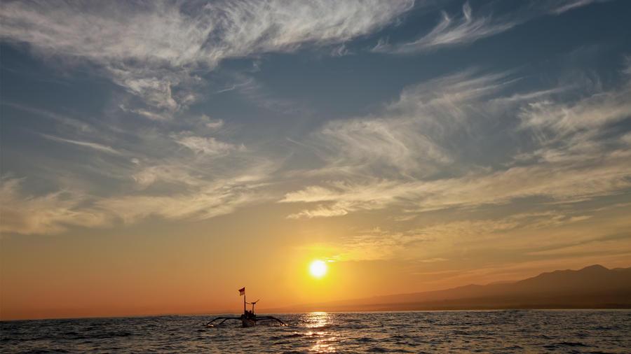 Lovina Sunrise by andreawan