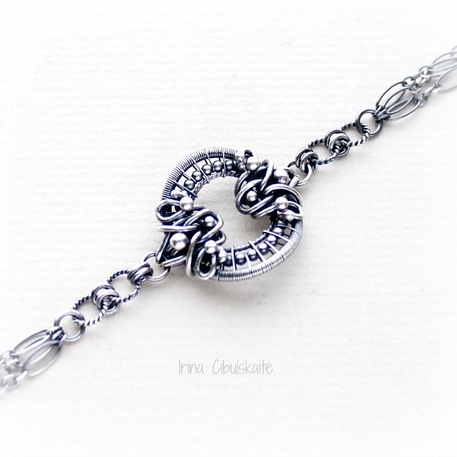 Sterling Silver Bracelet by taniri
