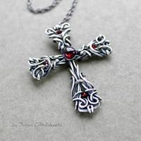 Linda - Sterling Silver Cross