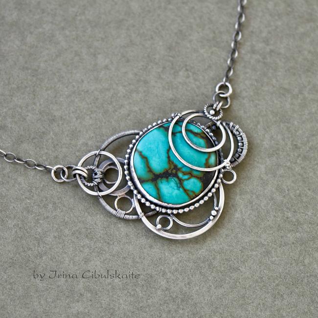Turquoise Pendant by taniri